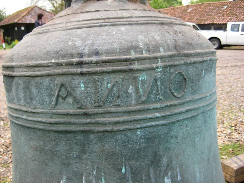 7th bell - part of inscription