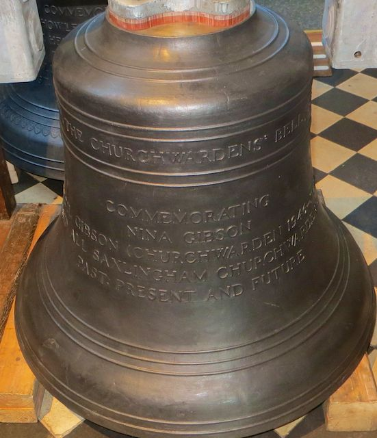 New 7th Bell - The Churchwardens' Bell