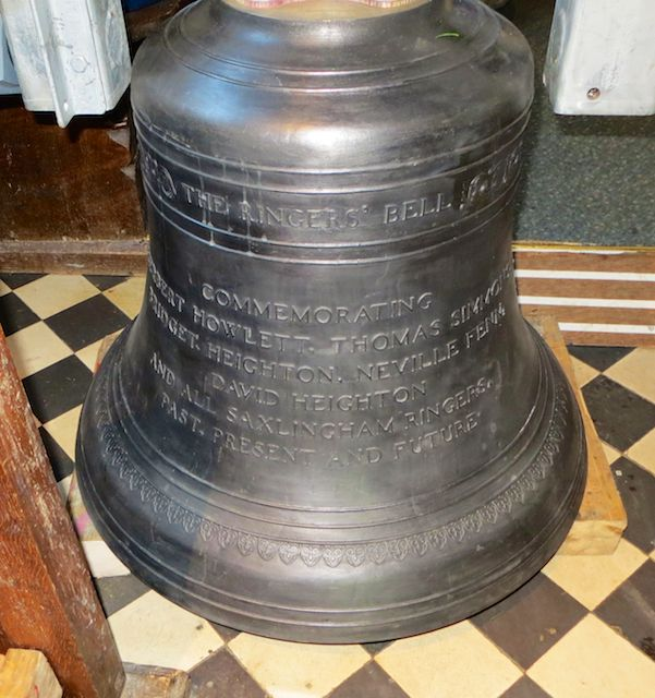 New 8th bell - The Ringers' Bell